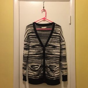Urban Outfitters striped long cardigan